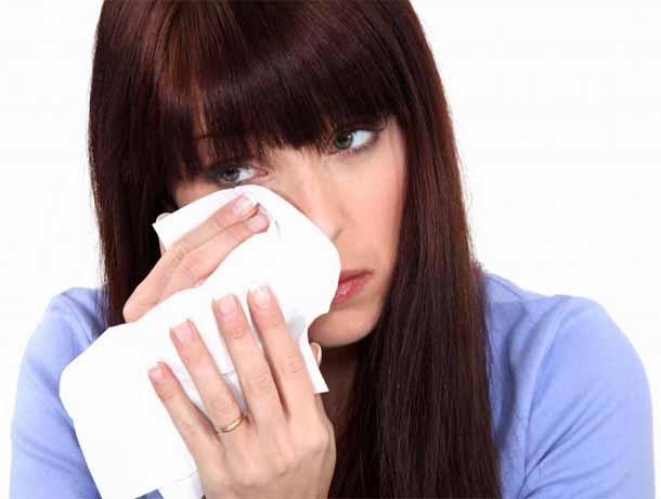 Сухой кашель причины.