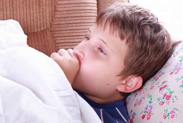 Симптомы гриппа у детей.