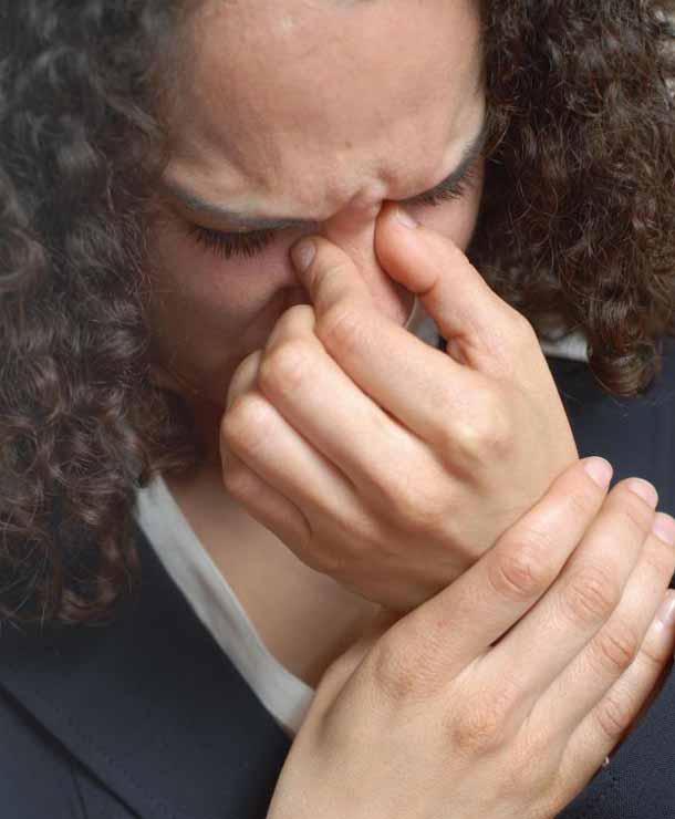 Хроническая заложенность носа.