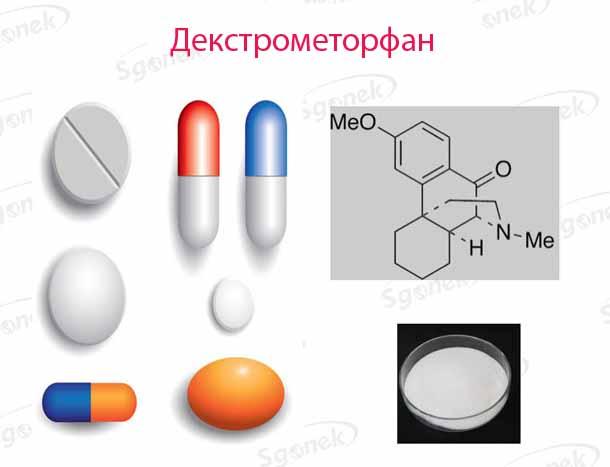 Декстрометорфан.