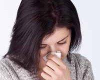 Солевой раствор для промывания носа.