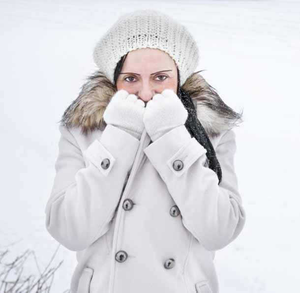 Симптомы обморожения.